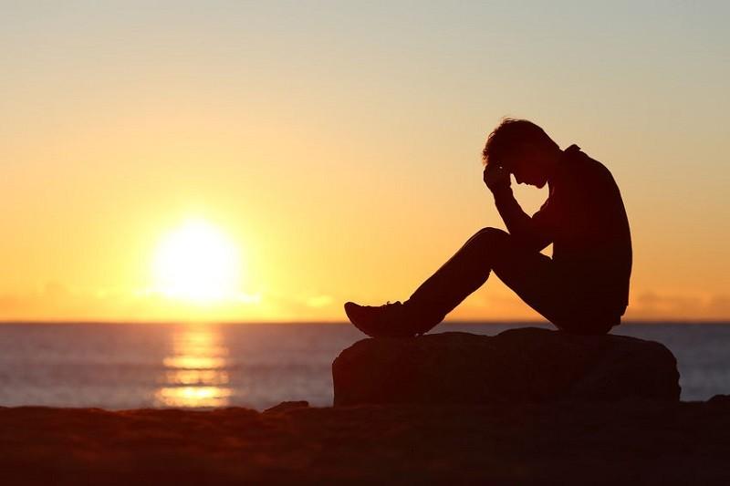 unhappy, smart people, sunset