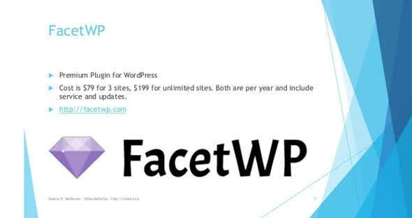 FacetWP v3.4.1 – Better Filtering for WordPress Nulled