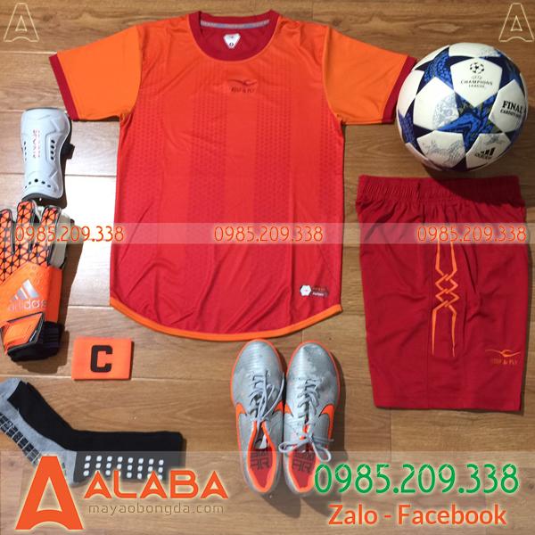 Áo bóng đá màu cam giá rẻ