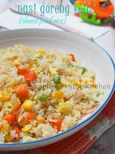 cheese fried rice recipe