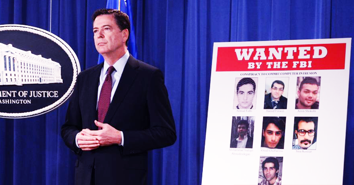 The 7 Most Wanted Iranian Hackers By the FBI