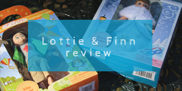 A review of Lottie Snow Queen and superhero and Finn kiteflyer dolls + WIN a Lottie Snow Queen Doll