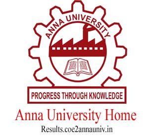 ANNA UNIVERSITY HOME PAGE, www.annauniv.edu site