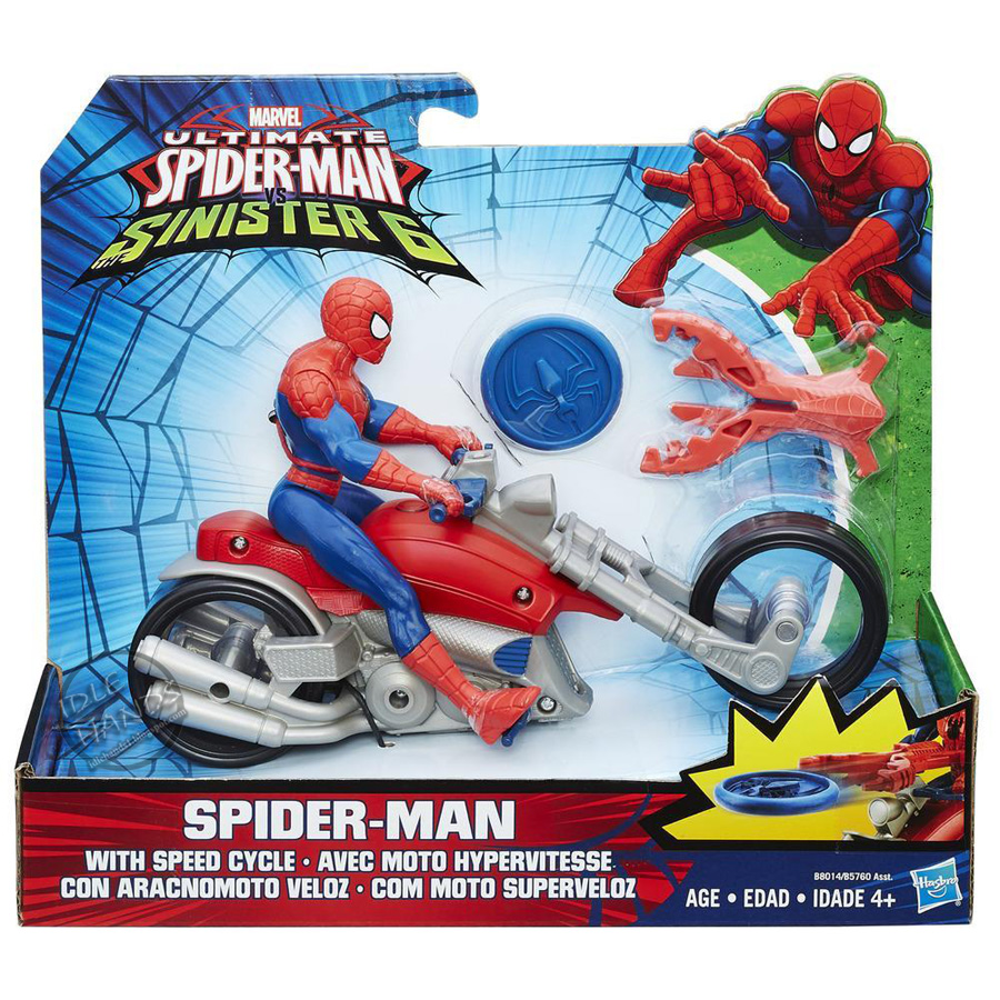 Idle Hands Toy Fair 2016 Hasbros Ultimate Spider Man Vs The Spiderman Hasbro Update 1 10 Weve Got A Couple More Pics To Add Pile Figures For Vulture And Iron As Well Group Of Comic Styled Villains Including