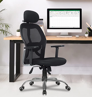 Green Soul Newyork Office Executive Ergonomic Chair With High-Back Mesh, Adjustable Arms and Tilt Lock