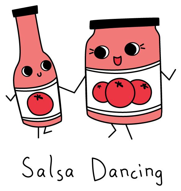 ana carmichael: Salsa Dancing