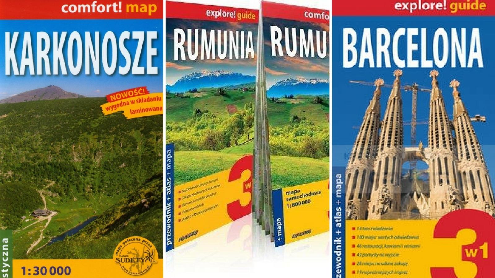 Mapy - Prezenty dla turysty