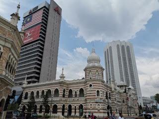 Merdeka Square o Plaza Merdeka. Kuala Lumpur, Malasia. edificio del Sultan Abdul Samal
