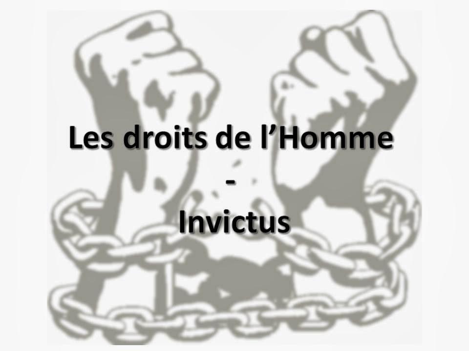 les droits de l homme expose