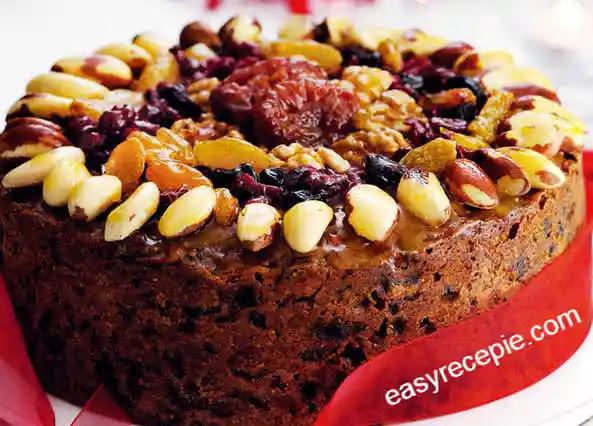 How to make soft fruit cake recipe at home