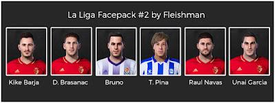 PES 2021 LaLiga Facepack #2 by Fleishman