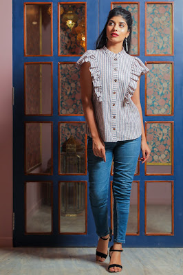 Viraali by designer Puneet Dewan Charkha Collection_ Sanket savaliya