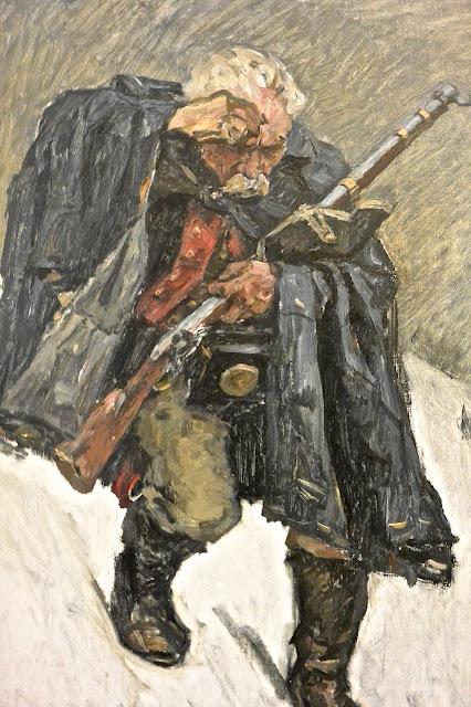 Saint pétersbourg Musée russe  Vassili Sourikov : le vieux soldat