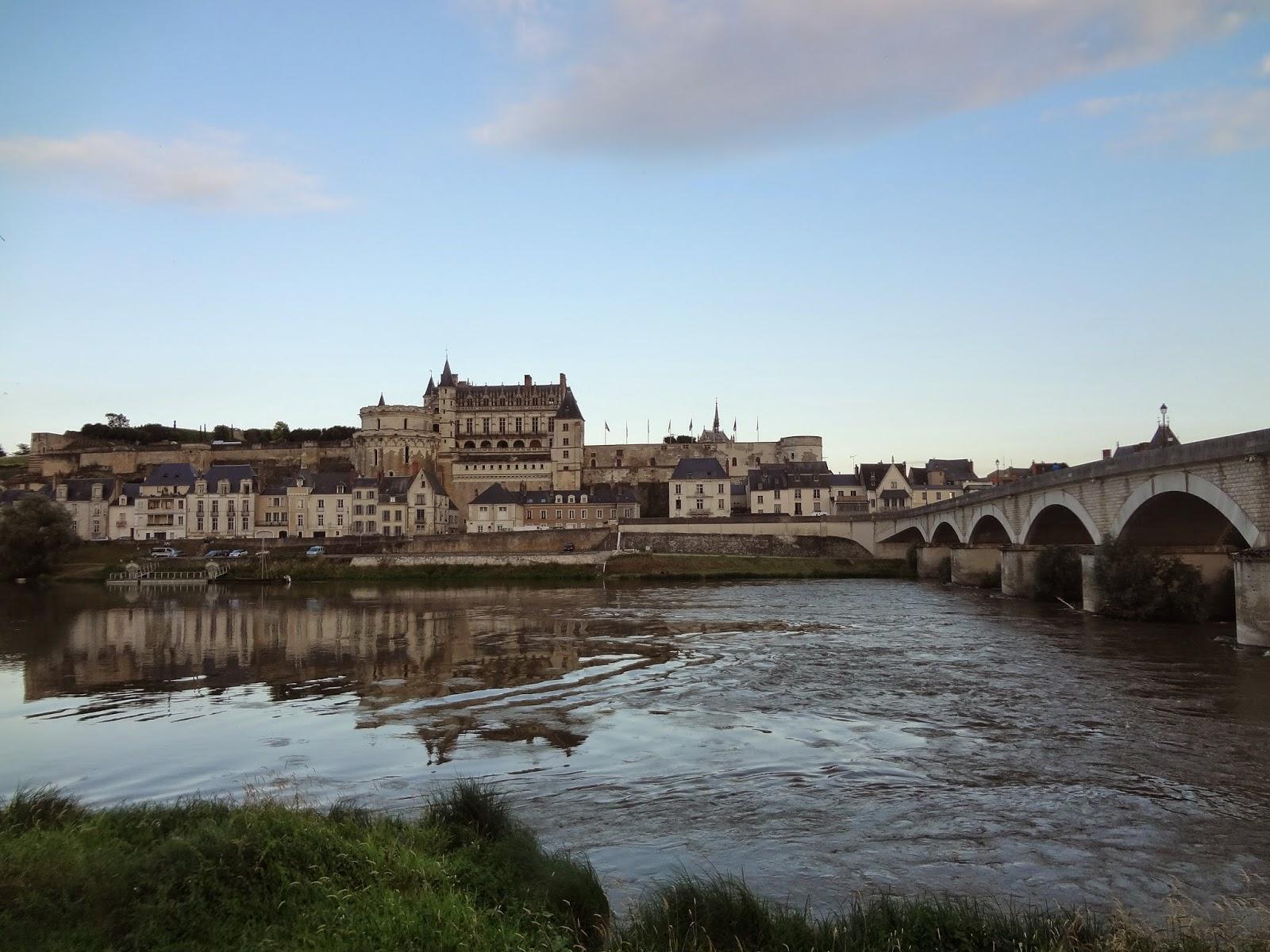 Vistas de Amboise desde Le Shaker