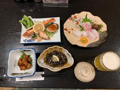 亀井荘 夕食