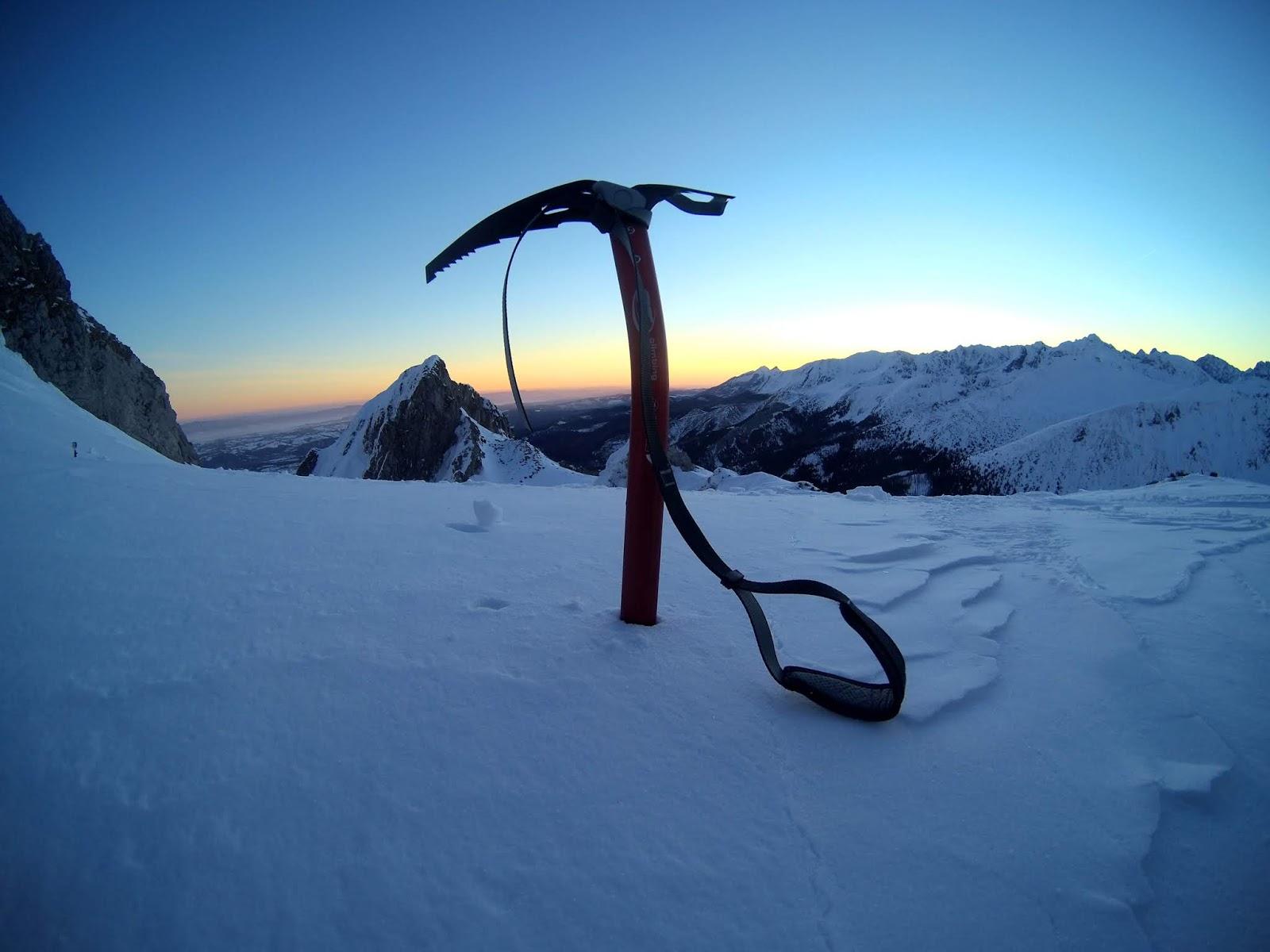 Tatry wysokie zimą Giewont