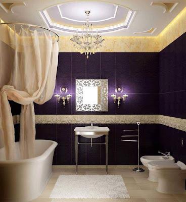 bathroom designs photos purple