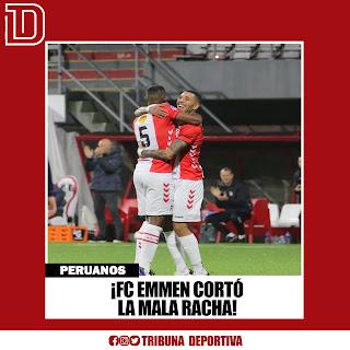 FC EMMEN CORTÓ LA MALA RACHA