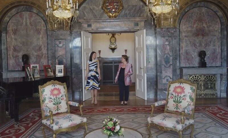 Maggie Rulli from ABC News went to the Berg Palace