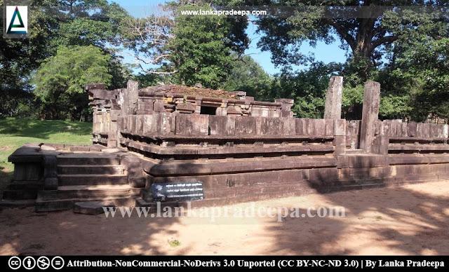 Polonnaruwa Siva Devale No. 1