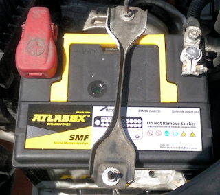 how to know if the battery of car is new