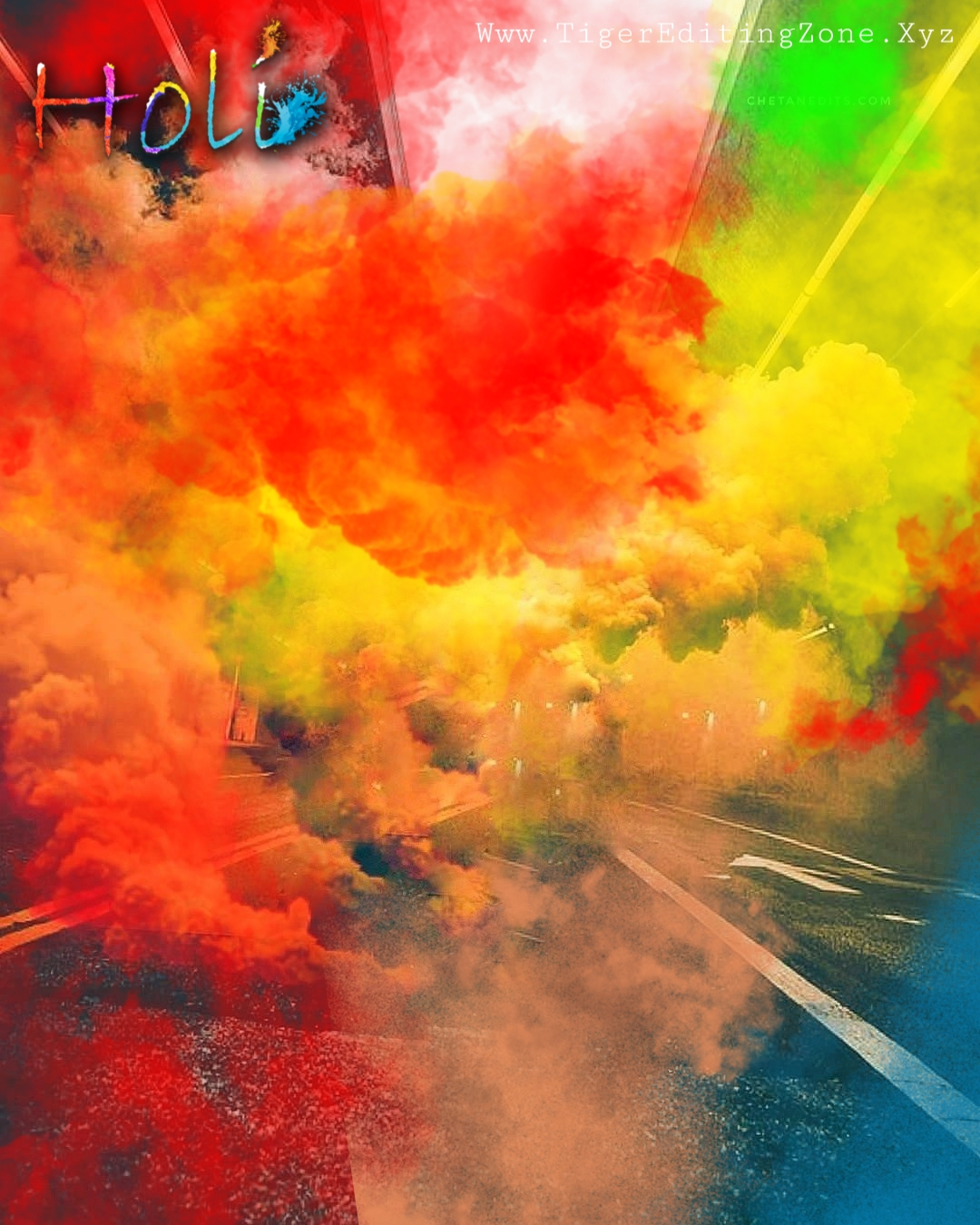 Happy Holi Photo Editing in Picsart 2021 | Holi Special Photo Editing Background Hd