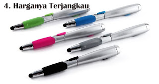 Harganya Terjangkau merupakan salah satu manfaat dan kelebihan pulpen stylus