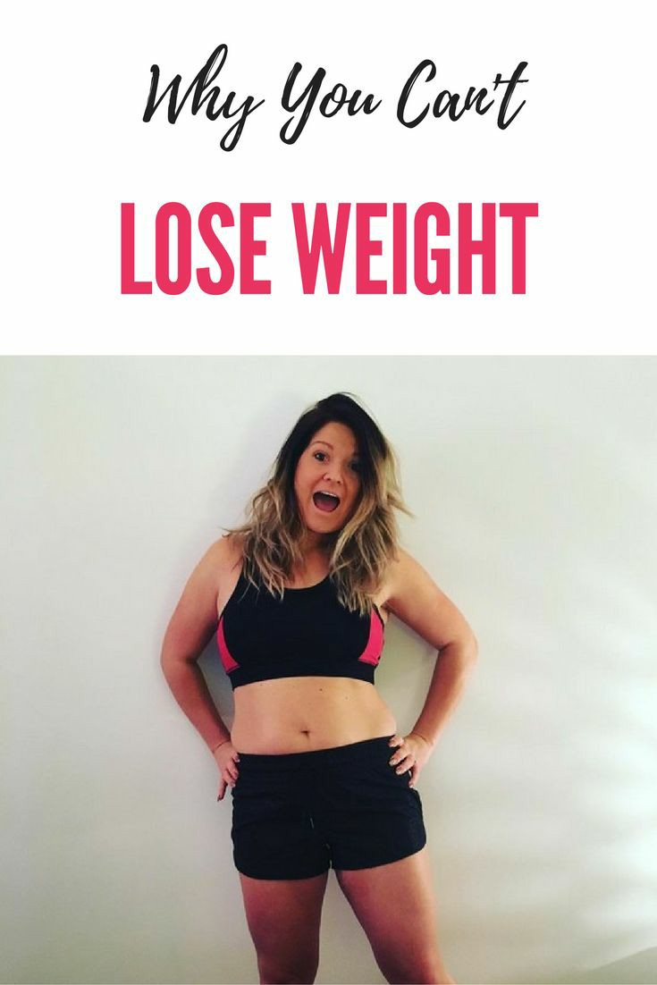 So! Why Am I Not Losing Weight