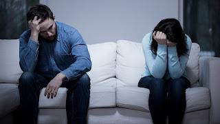 Separación de la pareja