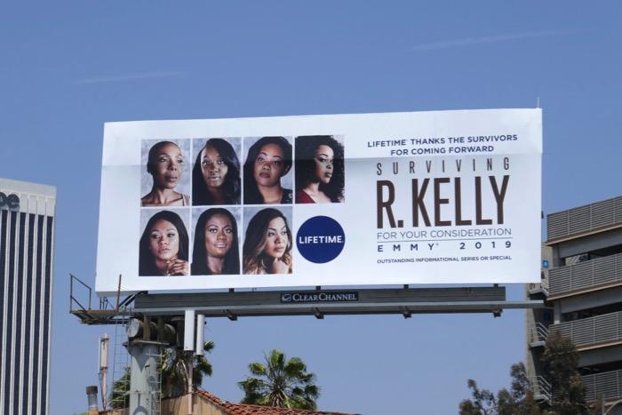 Surviving R Kelly Emmy FYC billboard