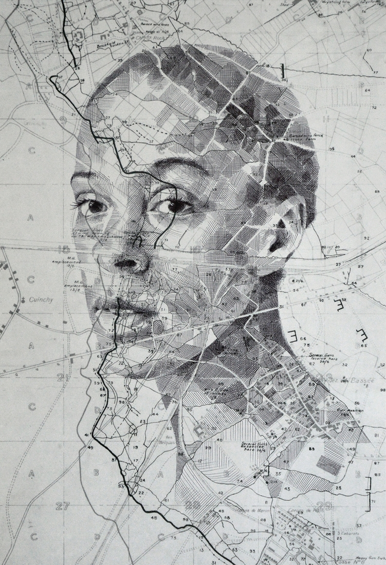 04-Cocoa-Lane-Edward-Fairburn-Maps-and-Cartography-linked-to-Portrait-Drawings-www-designstack-co