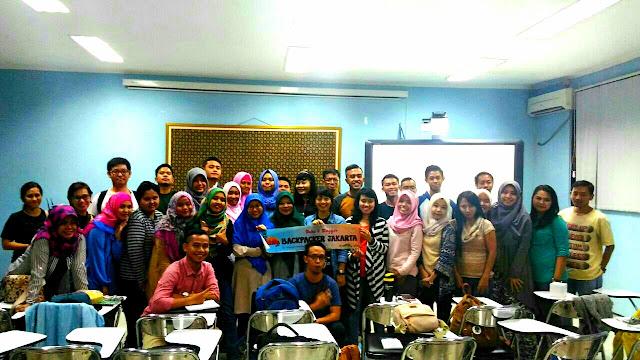 Foto peserta belajar content blog