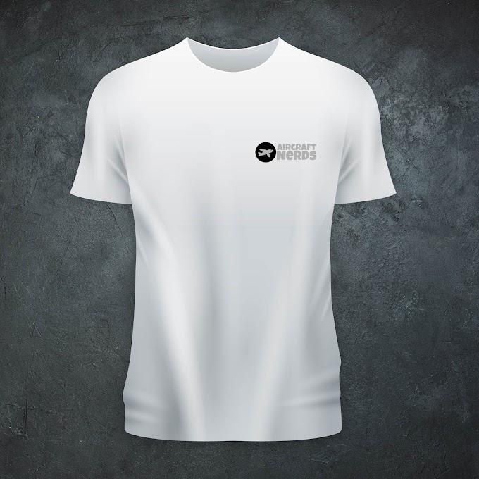 Aircraft Nerds Unisex T-shirt (Full Logo/Embroidered)