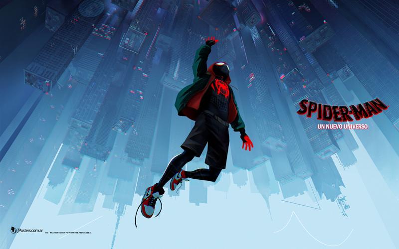 Wallpaper De Spider Man Un Nuevo Universo Diferentes Resoluciones
