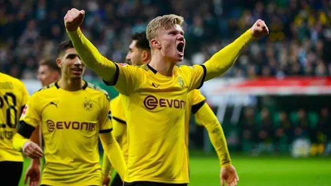 Dortmund fear Real Madrid's move for Haaland