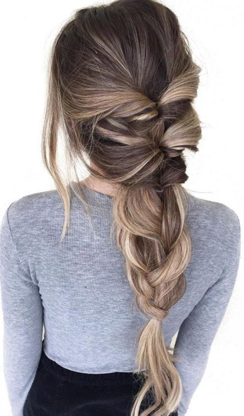 Braided Easy Hairstyles