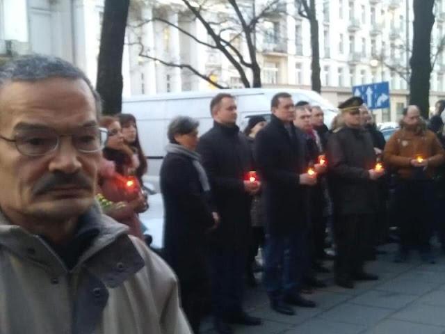 Андрей Дещица - Посол Украины в Польше и Нафис Кашапов - зам. премьер-министра правительства независимого Tатарстана в изгнании