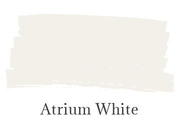 Benjamin Moore Atrium White
