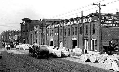 Tobacco Warehouse in Louisville, Kentucky 1906
