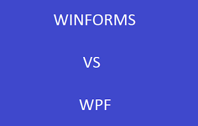 Winforms vs wpf pros and cons