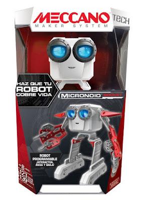 JUGUETES - MECCANO : Micronoid Socket : Robor Programable Bizak | Piezas: +100 | Edad: +8 AÑOS Comprar en Amazon España