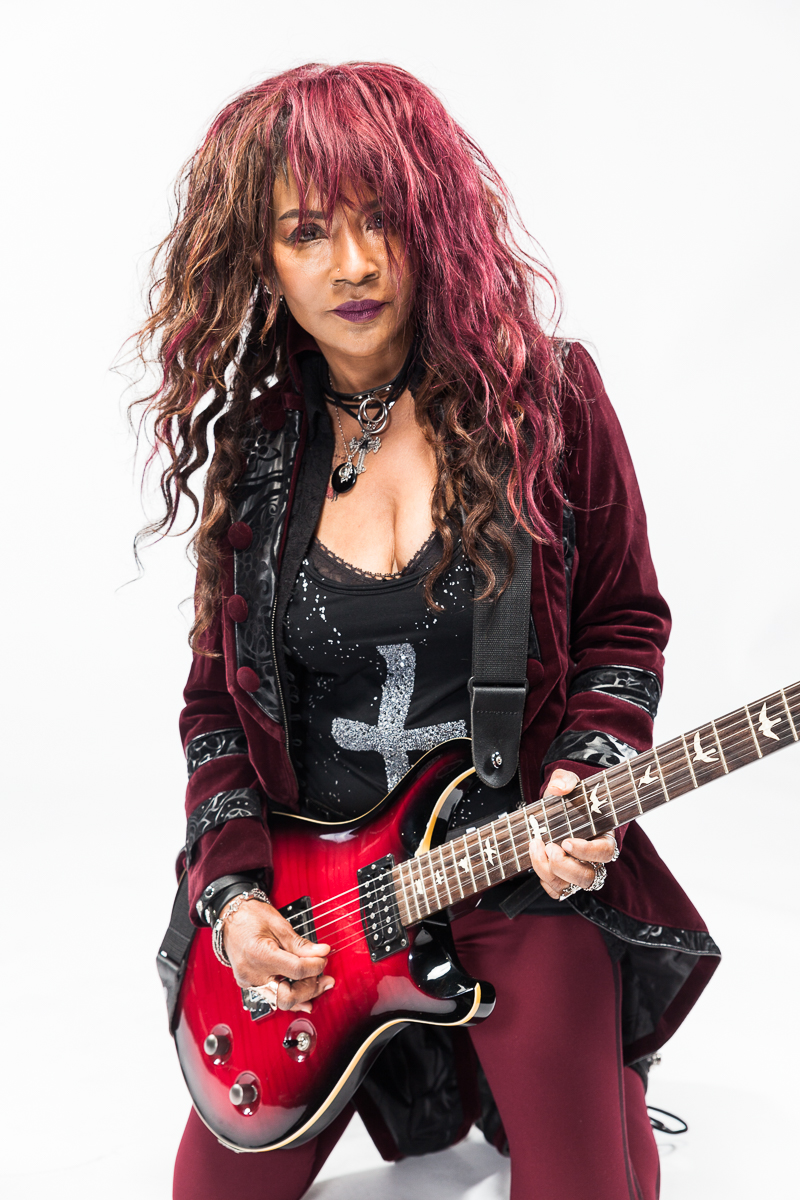 Emyna The Rock Queen - A talented artist who proves rock music is alive and well.