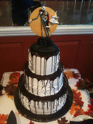 nightmare before christmas wedding cake ideas wedding cakes pictures nightmare before wedding 17891