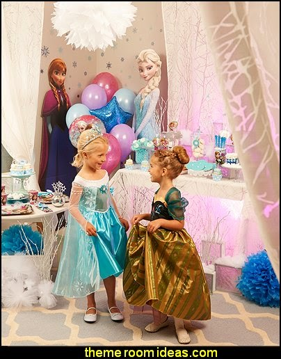 Frozen party supplies  Frozen themed birthday party ideas - Disney Princess Costumes - Disney Frozen Party Supplies Elsa, Anna, Olaf  - Disney Frozen theme - Frozen Birthday Invitations - frozen party supplies winter wonderland theme - snowflake themed birthday party - frozen costume - Frozen costumes - Frozen Elsa costumes -