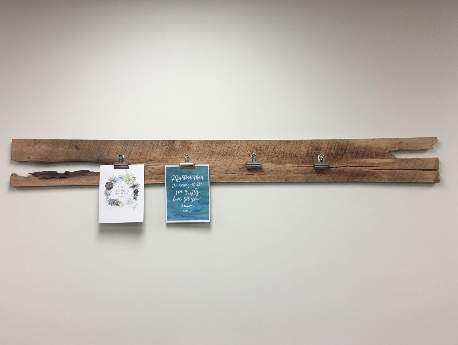 Marla, Plain and Small: DIY: Farmhouse Clipboard
