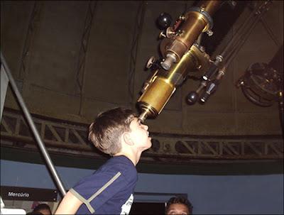 Programa de Observação do Céu - MAST - Rio de Janeiro/RJ