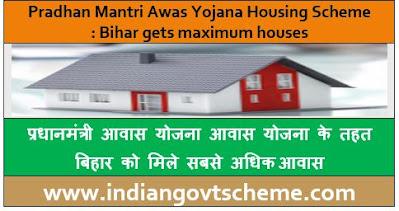 Bihar gets maximum houses