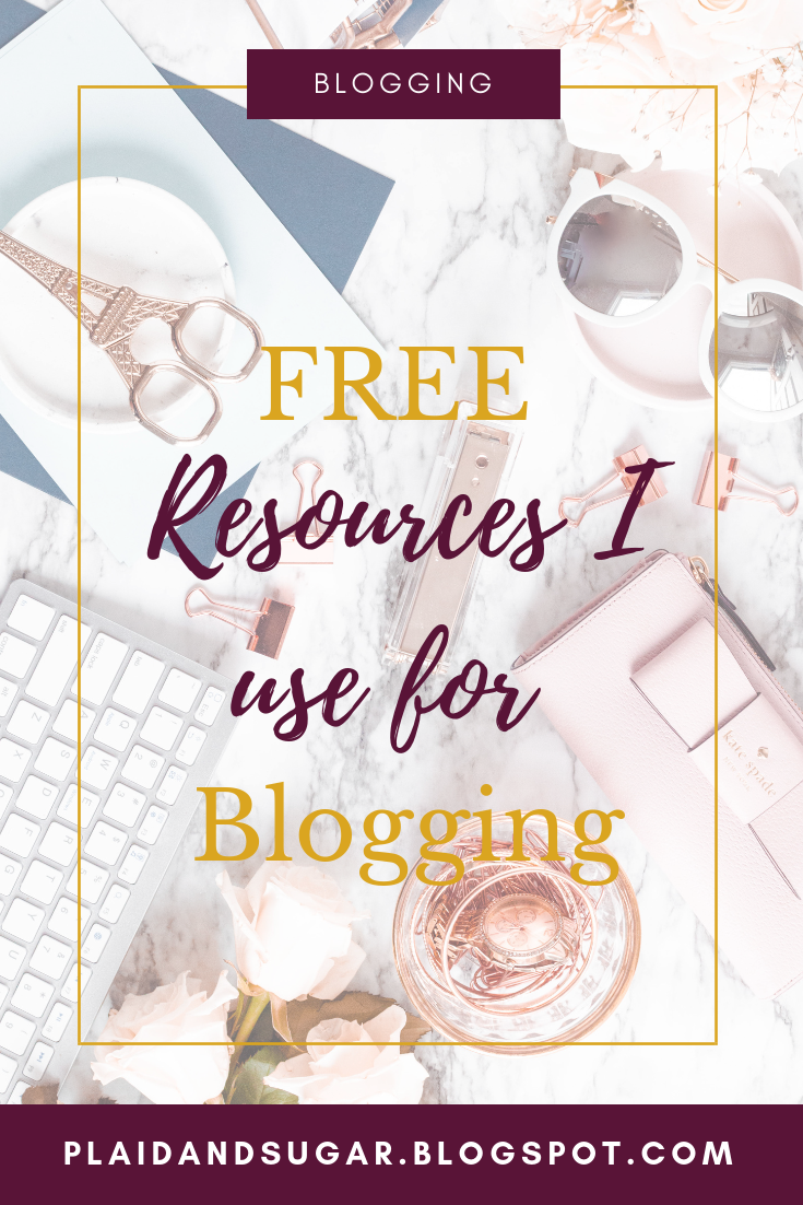 Blogging resources that are FREE