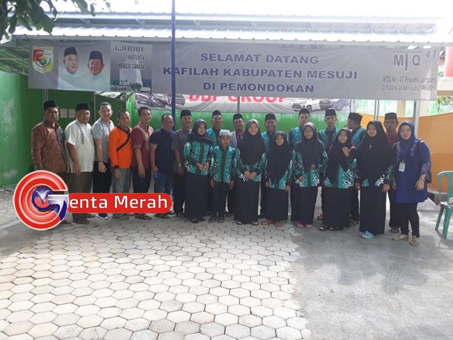 Ikut Kompetisi MTQ Tingkat Provinsi, Kafilah Mesuji Siap Raih Kemenangan.