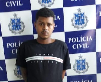 SAJ: Homem preso suspeito de furto tinha mandado de prisão por homicídio